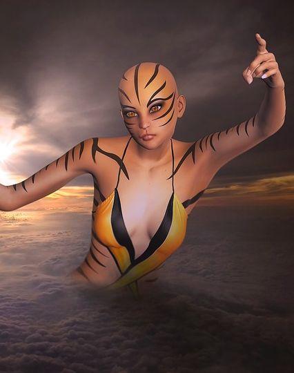 костюм инопланетянина на хэллоуин