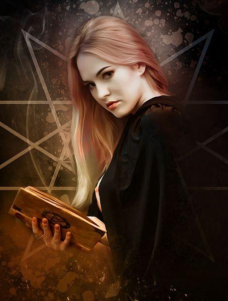 образ ведьмы на хэлоуин