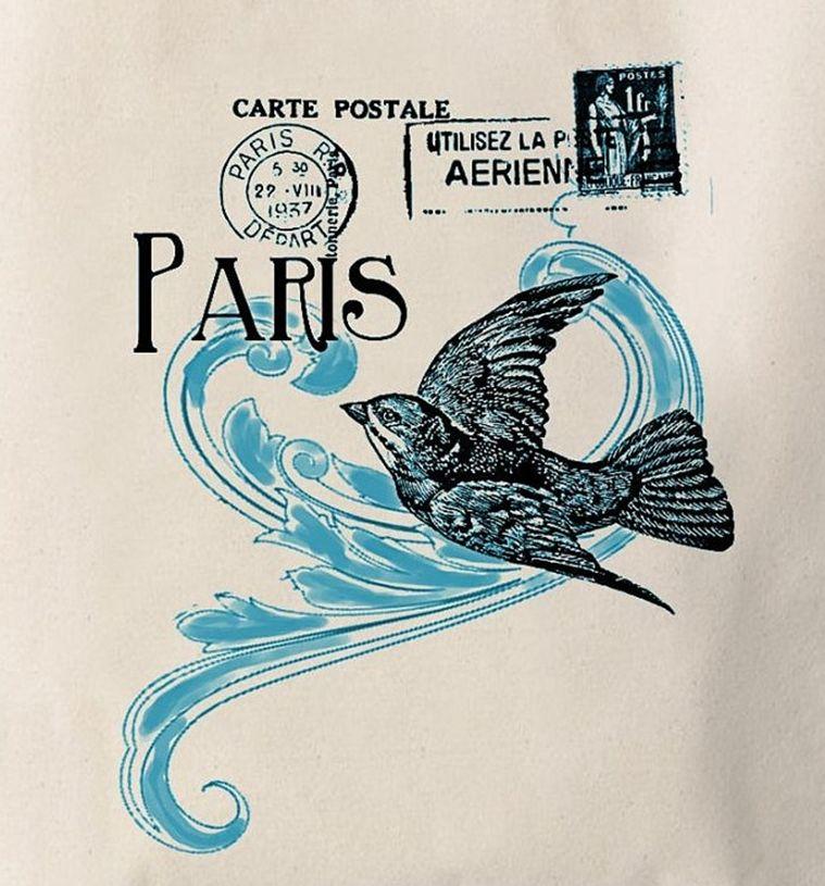 ласточка на почтовой марке