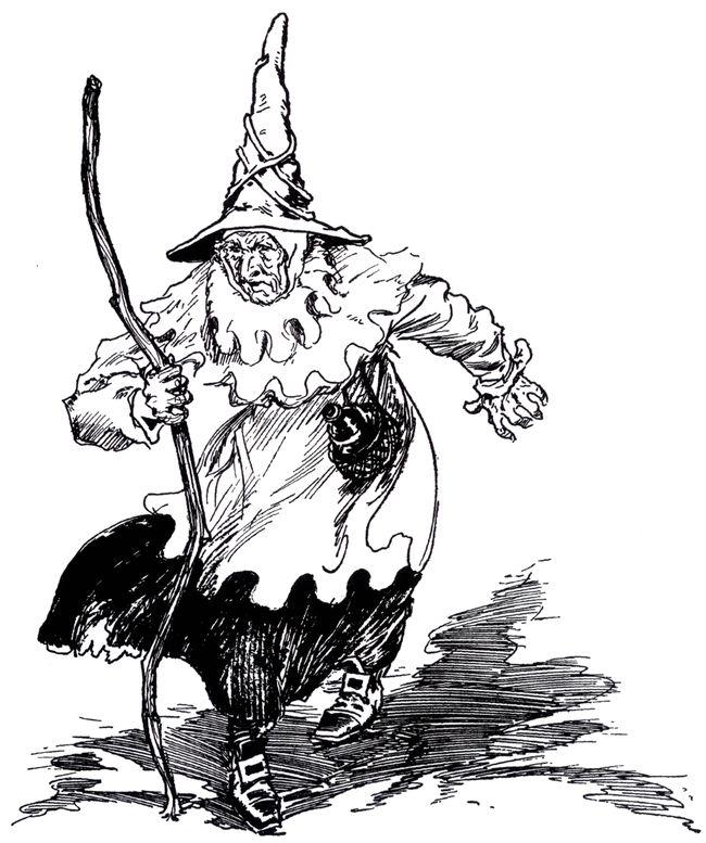 старая ведьма
