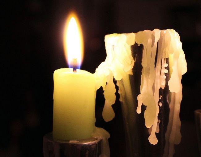 свечи и воск