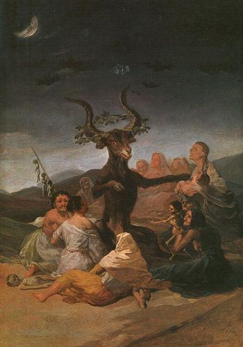 Франсиско де Гойя. Шабаш ведьм