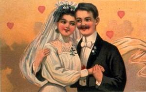 пара на свадьбе