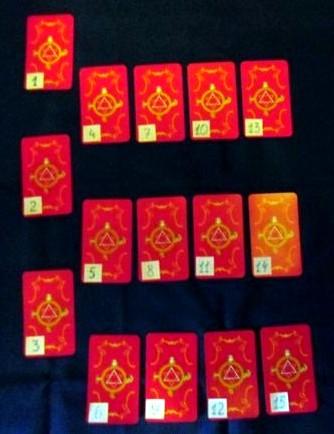 15 карт таро