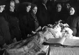 похороны Матроны Московской