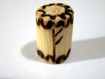 Руна Феу из дерева