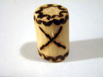 Руна Гебо из дерева