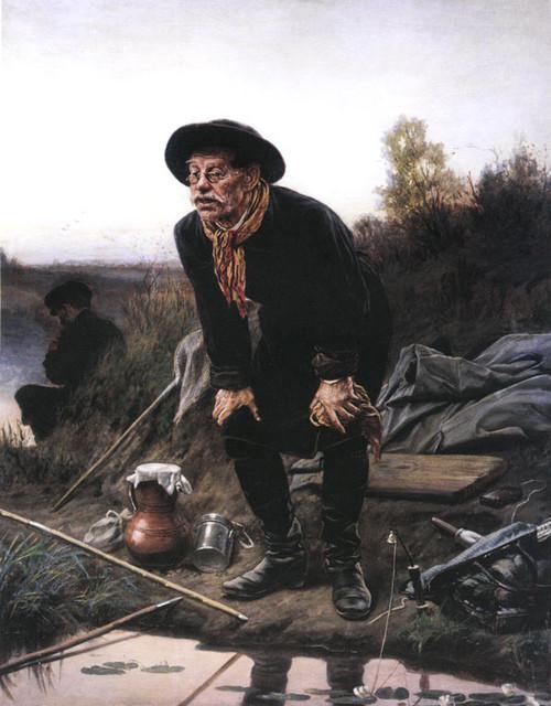 Перов Василий Григорьевич. Рыболов.