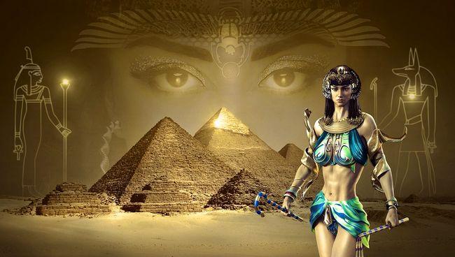графика древний Египет