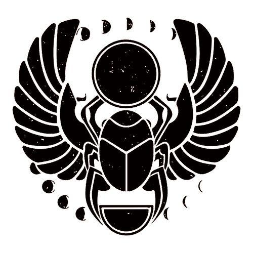 символ скарабей тату